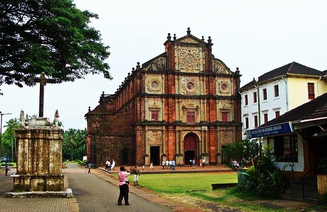 Old Goa Church, St. Francis Xavier Church
