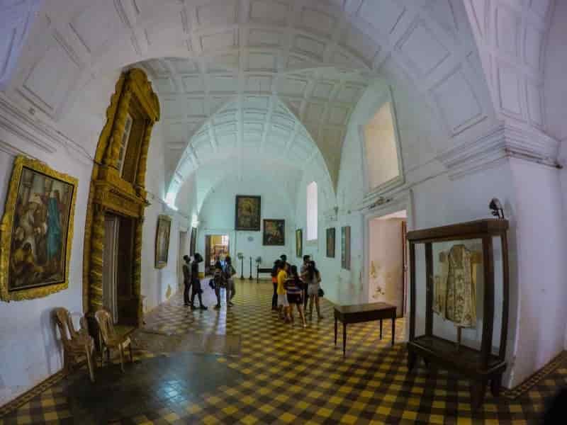 St. Francis Xavier cloths, Old Goa Church
