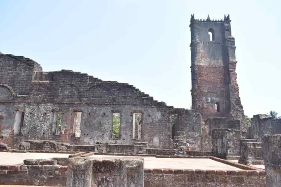 St Augustine Church Goa