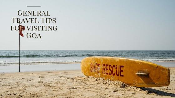 Travel Tips Goa
