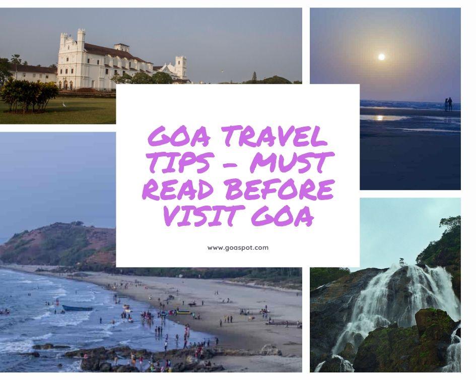Travel Tips Goa, Goa Guide