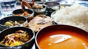 Ritz Classic Fish Thali
