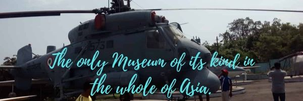 The only Naval Aviation Museum of its kind in the whole of Asia.